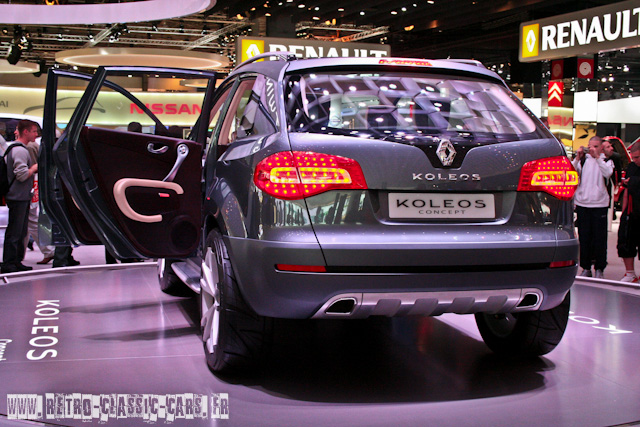 Renault Koleos Concept 2006 Sur Httpretro Classic Cars
